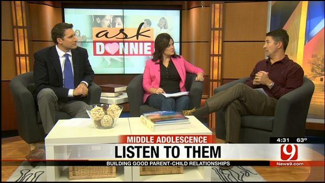 Ask Donnie: Building Parent-Child Relationships