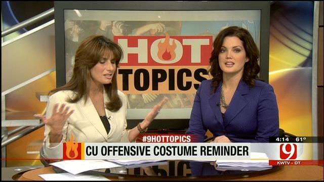 Hot Topics: CU Offensive Costume Reminder
