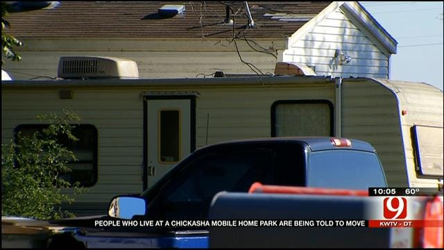 Residents At Chickasha Mobile Home Park Forced Out