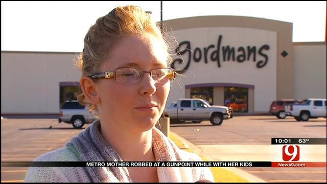 Mother Robbed In NW OKC Speaks Out