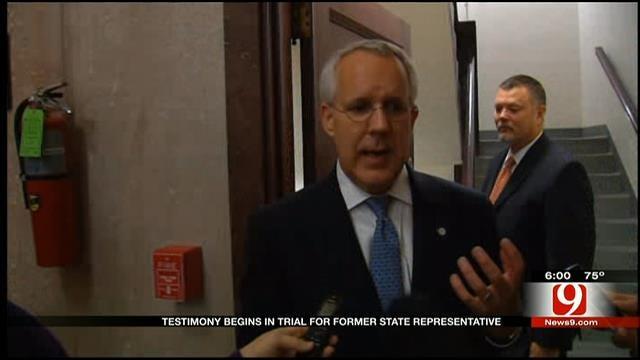 Former Governor Testifies In Terrill Bribery Trial