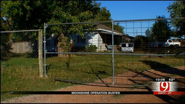 Deputies Bust Moonshine Operation Near Lexington