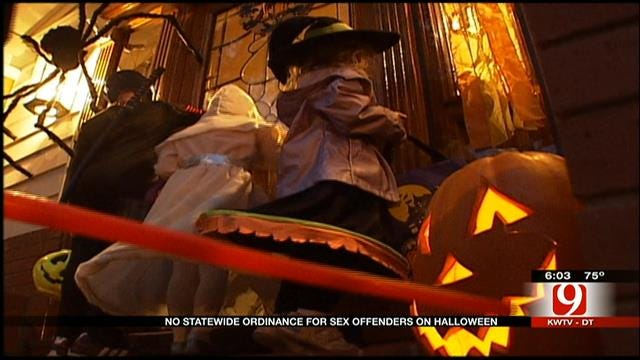 OK Sex Offenders Not Prohibited From Distributing Candy On Halloween