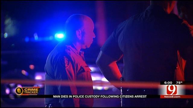 Man Dies In OKC Police Custody Following Citizen's Arrest