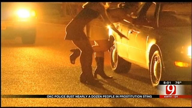 OKC Police Arrest Nearly A Dozen People In Prostitution Ring