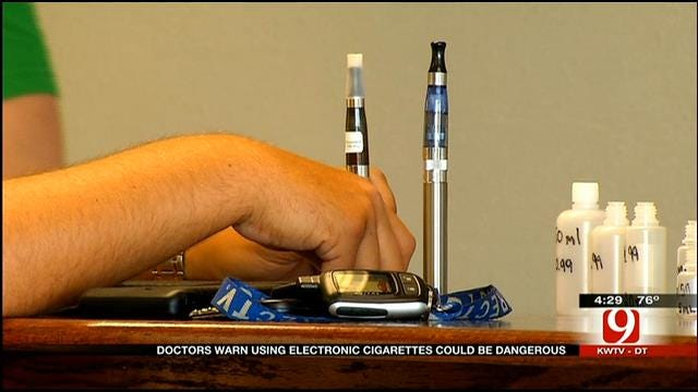 Medical Minute: Doctors Warn About Dangers Of Using E-Cigarettes