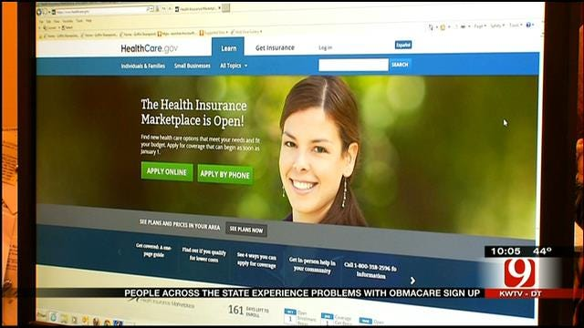 Oklahomans Frustrated With 'Obamacare' Rollout