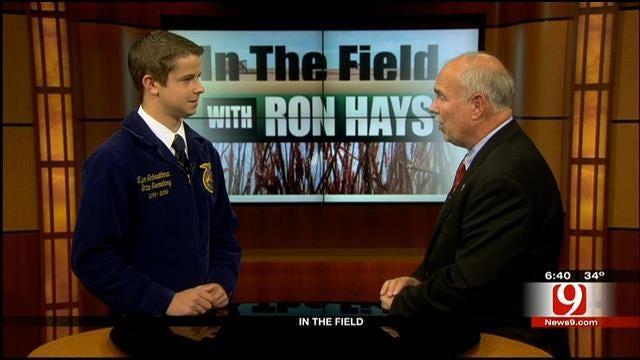 In The Field: Tyler Schnaithman, State Secretary Of The Oklahoma FFA