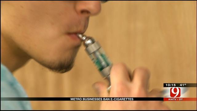 More Businesses Across OKC Metro Banning E-Cigarette