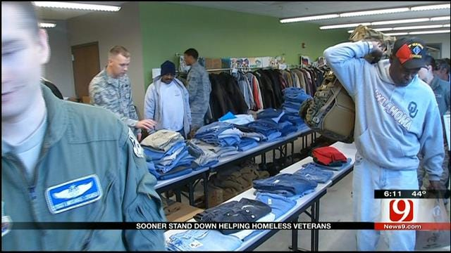 Annual 'Sooner Stand Down' Event Helps Oklahoma Homeless Veterans