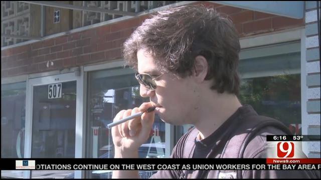 Some Oklahoma Businesses Snuff Out E-Cigarettes