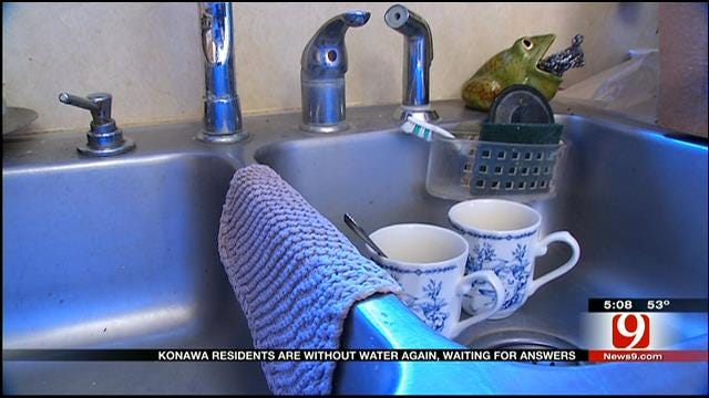Water Problems Flow Yet Again For Konawa Residents