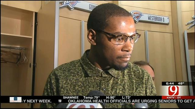 Kevin Durant Fat? Thunder Star Talks About Body Issues