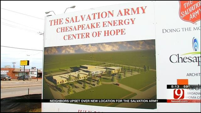 Neighbors Concerned Over Salvation Army's New Location In OKC