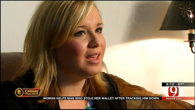 OK Woman Gives Thief Choice To Return Wallet, Offers Help