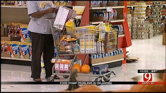 Computer Glitch Affects Access To Food Stamps, EBT Cards For Oklahomans