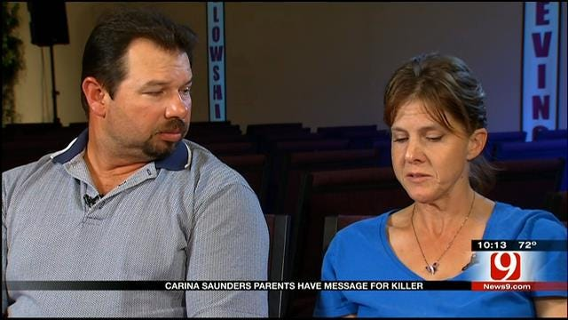 Carina Saunders' Parents Speak To News 9