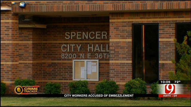 Three Spencer City Employees Charged With Embezzlement
