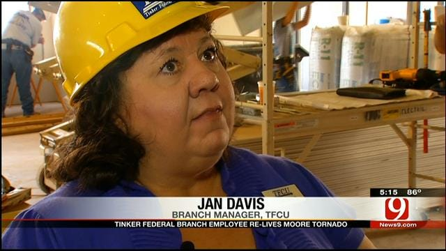Tinker Federal Credit Union Employee Relives Moore Tornado