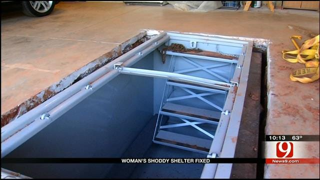 OKC Family Finally Get Shelter Installed Right After Scam