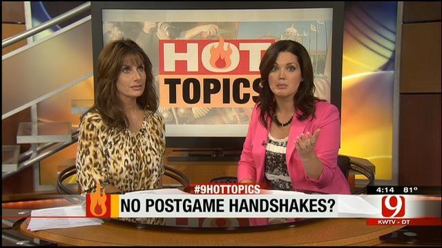 Hot Topics: No Postgame Handshakes?