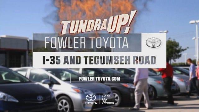 Fowler Toyota: Tundra Up