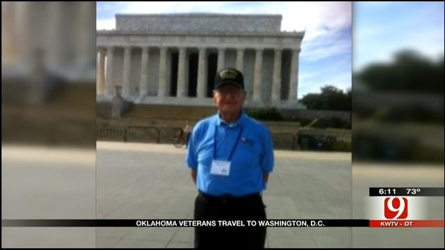 Shutdown Doesn't Shut Out OK Veterans From World War II Memorial