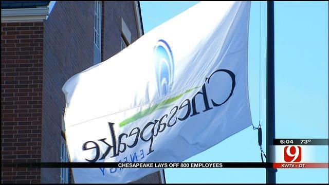 640 OKC Chesapeake Employees Let Go Tuesday
