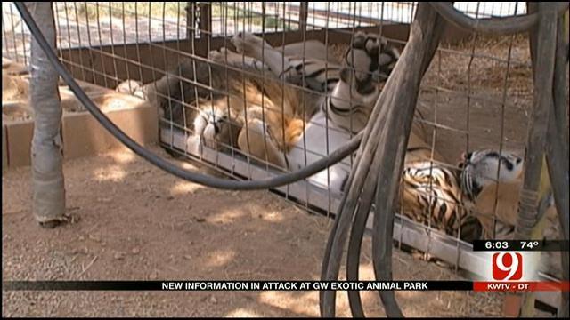 GW Exotic Animal Park Identifies Employee Injured In Tiger Mauling