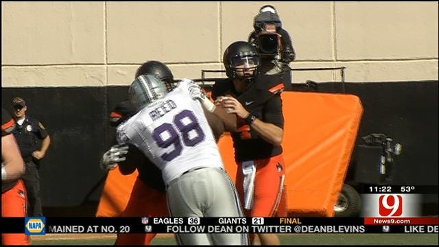 Oklahoma State Football Wrap Up, Report Card
