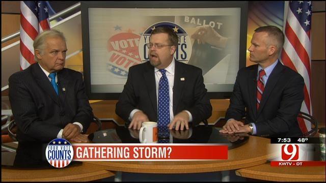 Your Vote Counts: Government Shutdown, Oklahoma Economy, Contractor Scam