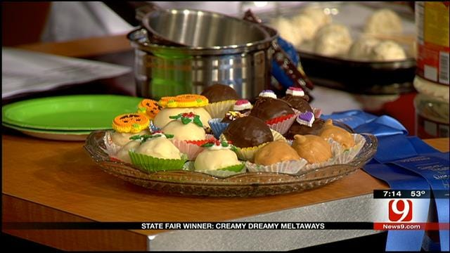 State Fair Winning Recipe: Creamy Dreamy Meltaways