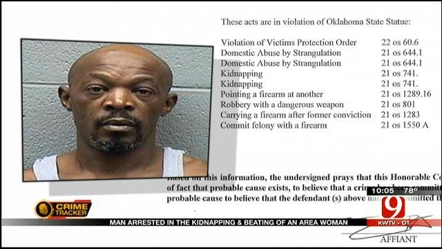 Man Arrested, Accused Of Kidnapping, Beating OKC Woman
