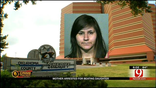OKC Mom Facing Two Counts Of Felony Child Abuse