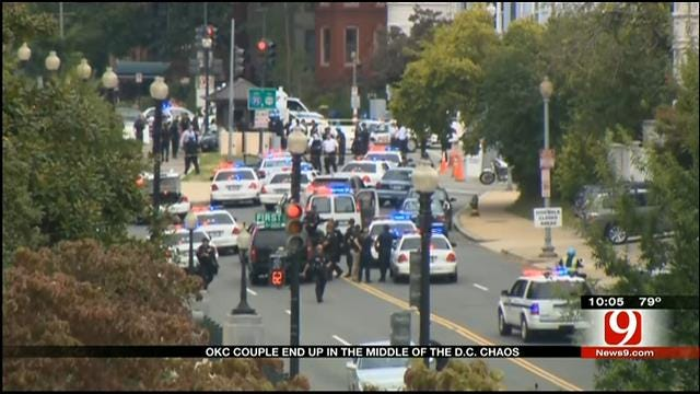 Oklahoma Couple Living In DC Experience Capitol Shooting Chaos