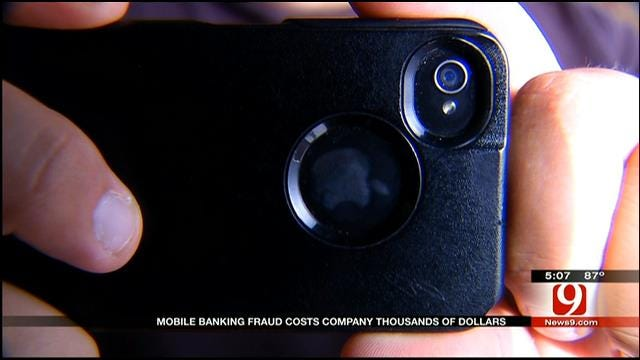 Mobile Banking Used To Steal Thousands From OKC Business