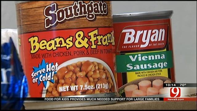 Backpack Club Helps Feed Hungry Oklahoma Kids