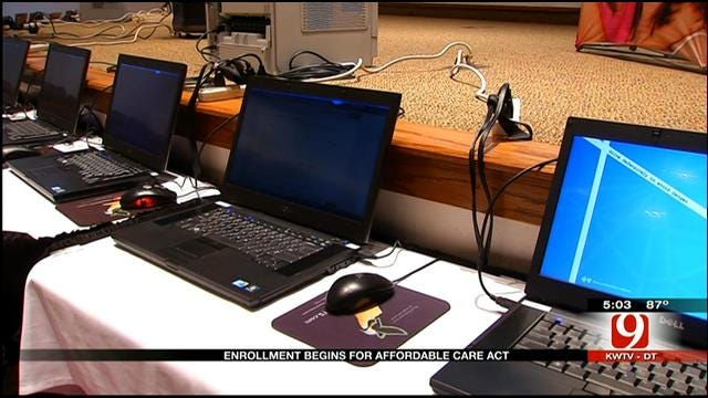 Some Oklahomans Having Problems Enrolling In Affordable Care