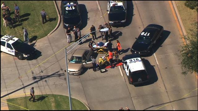 WEB EXTRA: Police Pursuit On I-35 In Moore
