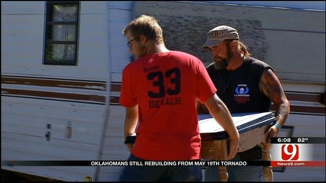Shawnee Residents Continue To Rebuild Months After Tornado