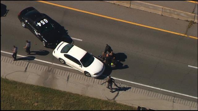WEB EXTRA: Bob Mills SKyNews9 HD Catches Police Pursuit On Camera