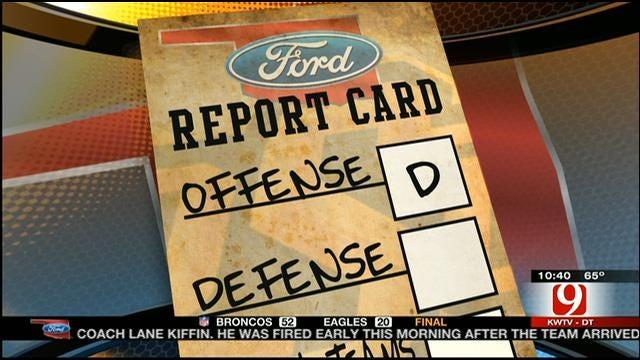 OSU Football Report Card