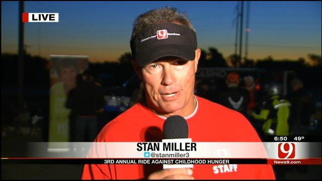 Stan Miller Talks About Ride Against Childhood Hunger