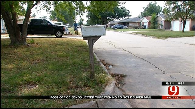 Residents In Edmond Neighborhood Upset Over Postal Service Changes