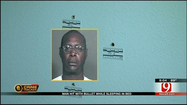 Stray Bullet Strikes Sleeping Man In NW OKC