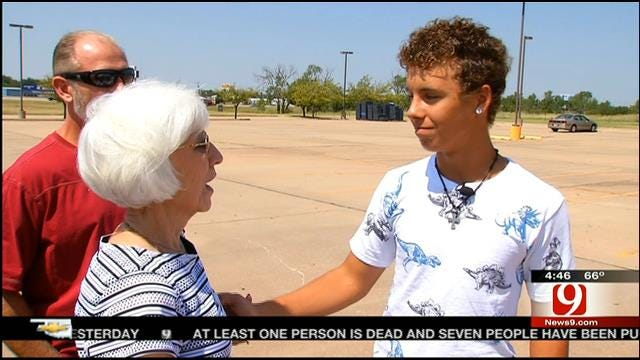 OK Teen To Be Featured On CBS News For Making Amends With Dad's Mugging Victim