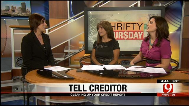 Thrifty Thursday: Cleaning Up Credit Report