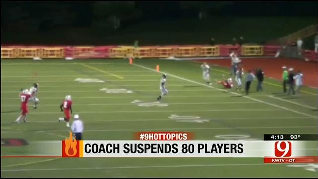 Hot Topics: Coach Suspends 80 Players