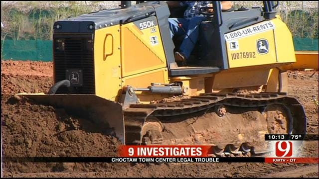 Work Continues On Choctaw Town Center Despite Lawsuits