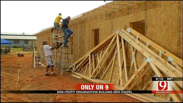 Non-Profit Group Building Chapel At McLoud Correctional Facility